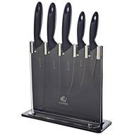 Viners Набор ножей в подставке Silhouette, черный, 6 пр