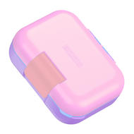 Zoku Ланч-бокс Neat Bento малый, 18.7х15х7.1 см, розовый