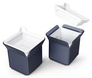 Zoku Набор форм для льда Cube, 9.4х9.4х7.2 см, 2 шт, черный