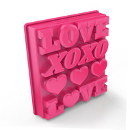 Zoku Форма для льда Love, 14.1х13.1х3.2 см