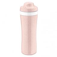 Koziol Бутылка Oase Organic (425 мл), розовая