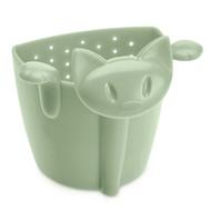 Koziol Емкость для заваривания чая Miaou, 7.5х7.3х6.1 см, эвкалиптовая