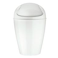 Koziol Корзина для мусора с крышкой Del M (12 л), белая