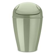 Koziol Корзина для мусора с крышкой Del M (12 л), эвкалиптовая