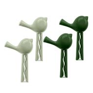 Koziol Набор зажимов для пакета Pip, зеленый, 4 шт