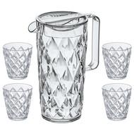 Koziol Набор посуды Crystal, 5 пр