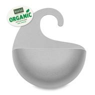 Koziol Органайзер для ванной Surf M Organic, 25.5x25x6.5 см, серый