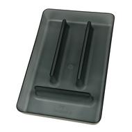 Koziol Органайзер для столовых приборов Rio, 4.7x31.6x20.8 см, серый