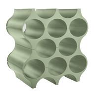 Koziol Подставка для бутылок Set-Up Organic, 36.6x35.4x23.1 см, эвкалиптовая