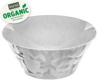 Koziol Салатница Club Bowl L Organic (3.5 л), 26.7 см, серая