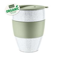 Koziol Термокружка Aroma To Go 2.0 Organic (400 мл), зеленая