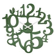 Koziol Часы настенные Pip, 44.8 см, темно-зеленые