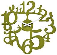 Koziol Часы настенные Pip, 44.8 см, эвкалиптовые