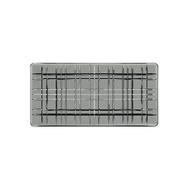 Nachtmann Блюдо прямоугольное Square, 28х14 см, серое