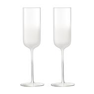LSA International Набор бокалов-флейт для шампанского Mist (225 мл), 2 шт