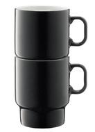 LSA International Набор кружек для капучино Utility (380 мл), серый, 2 шт