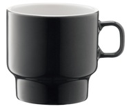 LSA International Набор кружек для флэт-уайт кофе Utility (280 мл), серый, 2 шт