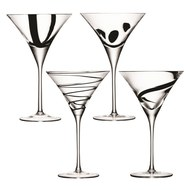 LSA International Набор бокалов для коктейлей Jazz (250 мл), 4 шт