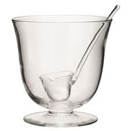 LSA International Чаша для пунша с половником Serve, 25 см