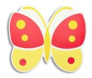 Harman Салфетка подстановочная Бабочка, 38х33 см, желтая