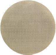 Harman Салфетка подстановочная круглая Шахматы, 35.5 см, бежевая