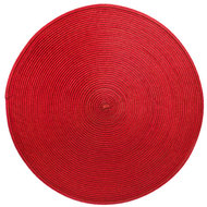 Harman Салфетка подстановочная круглая Улитка, 38 см, красная
