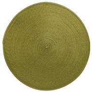 Harman Салфетка подстановочная круглая Улитка, 38 см, оливковая