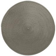 Harman Салфетка подстановочная круглая Улитка, 38 см, темно-серая