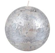 Luz your senses Свеча-шар, 10 см, ночное серебро