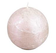 Luz your senses Свеча-шар, 8 см, жемчужный металлик