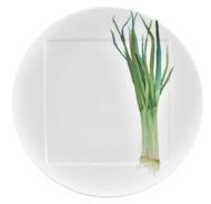 Noritake Тарелка десертная Овощной букет. Зеленый лук, 16 см