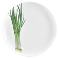 Noritake Тарелка закусочная Овощной букет. Зеленый лук, 24 см