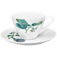 Noritake Чашка чайная с блюдцем Овощной букет. Баклажан (210 мл)