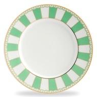 Noritake Тарелка десертная Карнавал, 21 см, зеленая полоска