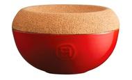 Emile Henry Емкость для хранения соли, 14.5х8.7 см, гранат