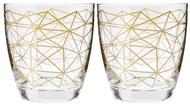 Krosno Набор стаканов для воды Золотая нить (370 мл), 2 шт