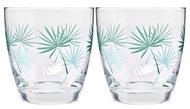 Krosno Набор стаканов для воды Пальмовые листья (370 мл), 2 шт