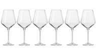 Krosno Набор бокалов для красного вина Авангард (490 мл), 6 шт