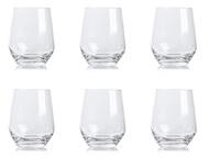 Krosno Набор стаканов для воды Великолепие (400 мл), 6 шт