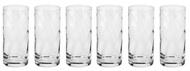 Krosno Набор стаканов для воды Романтика (380 мл), 6 шт