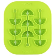 Tovolo Форма силиконовая для льда на палочке Лимонные дольки, 16х15х2 см