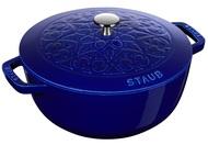 Staub Кокот Лилия (4.9 л), 26 см, темно-синий
