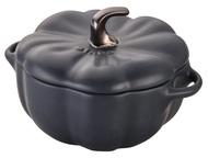 Staub Кокот Тыква (0.7 л), 14.8 см, черный