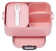 Mepal Ланч-бокс со съемными контейнерами (0.9 л), розовый