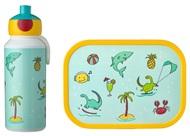 Mepal Набор детский ланч-бокс и бутылка для воды Campus (pu+lb), акула, 2 пр
