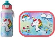 Mepal Набор детский ланч-бокс и бутылка для воды Campus (pu+lb), единорог, 2 пр