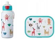 Mepal Набор детский ланч-бокс и бутылка для воды Campus (pu+lb), животные, 2 пр