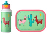 Mepal Набор детский ланч-бокс и бутылка для воды Campus (pu+lb), лама, 2 пр