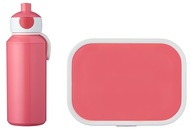 Mepal Набор детский ланч-бокс и бутылка для воды Campus (pu+lb), розовый, 2 пр