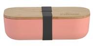 Typhoon Ланч-бокс Colour, 11х22х6 см, розовый